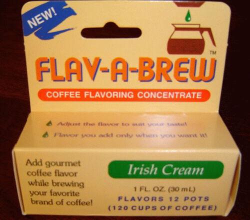FLAV-A-BREW IRISH CREAM COFFEE FLAVORING SUGAR FREE
