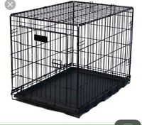 Looking for 2 dog crates