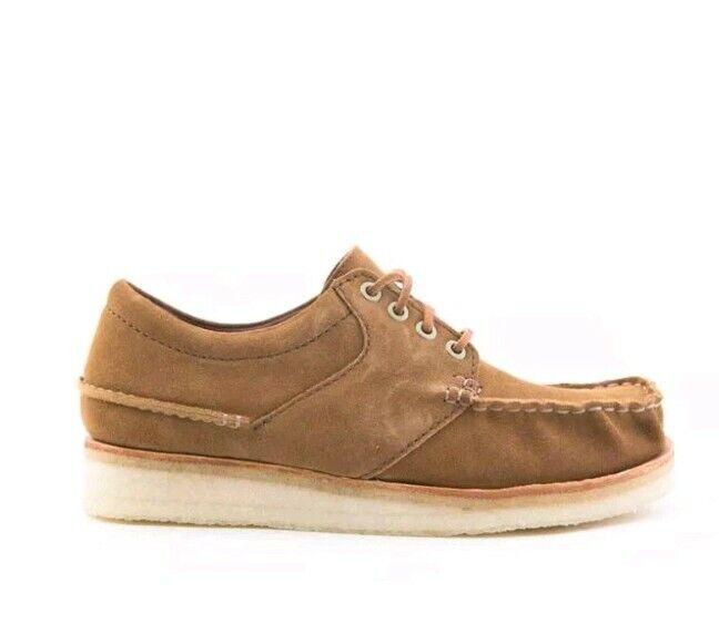 NEW Clarks Originals Wallace Men's Brown Cola Suede 26131245 Size 9 US $210!