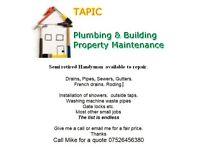 Plumbing and building maintenance