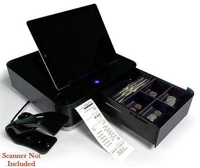 Star Mpop Tablet Stand Cash Drawer And Printer Black 39650211