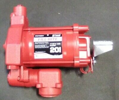 Fill-rite Fr700v 115v Ac Fuel Transfer Pump
