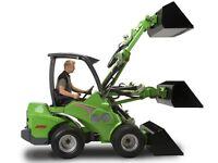 Avant multi purpose loader/digger hire