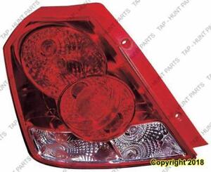 Tail Lamp Passenger Side Hatchback High Quality Chevrolet Aveo 2004-2008