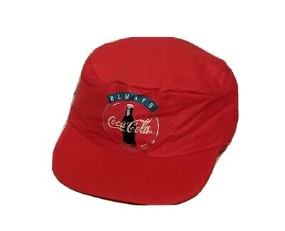 NEW NWOT VINTAGE 80'S COCA COLA HAT CAP COKE SOFT DRINK PAINTER CAP