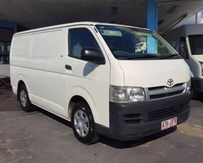 2006 Toyota Hiace LWB van 2.7L VVTi only 150,000 KM $15,999 Highgate Hill Brisbane South West Preview