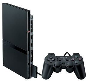 PS2 console + games