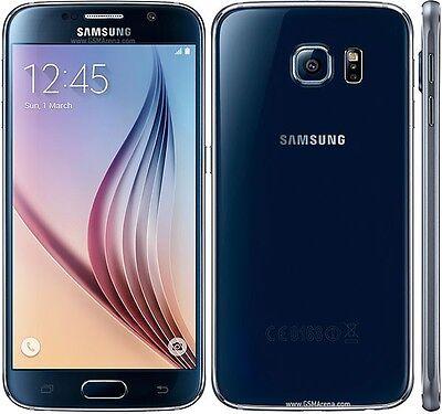 "SAMSUNG Galaxy S 6 G920 [BLACK] 32GB 5.1"" Super AMOLED 5.0 Lollipop Unlocked"