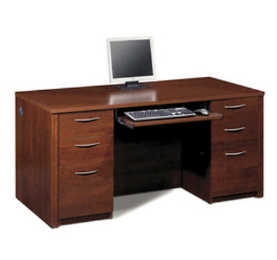 Bestar Embassy Executive Desk Kit In Tuscany Brown Finish 60850-63 New