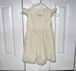 Special Occasion size 4T ivory dress