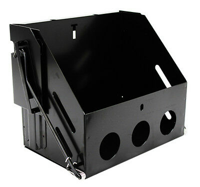 Drop Down Battery Box, Hot Rod, Truck, Street Rod, Group 24 - Black Out Series