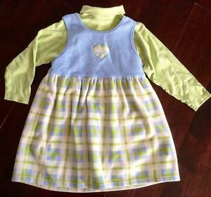 Gymboree Jumper and Turtleneck sweater X-Large - 5-6 years