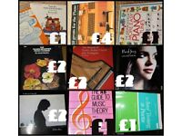 PIANO MUSIC BOOKS FOR SALE- FROM £1 +