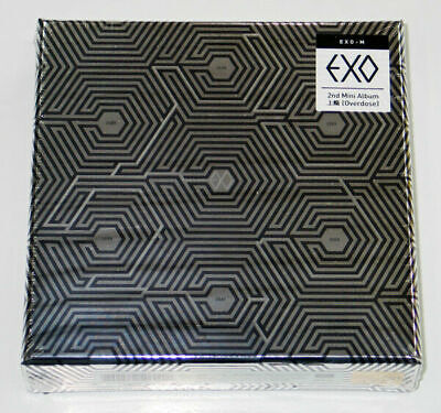 EXO-M - Overdose (2nd Mini Album) CD+Photocard+Free Gift+EXPRESS SHIPPING