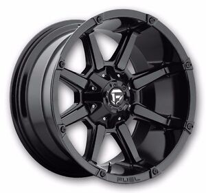 "20"" Fuel Wheels D575 Dodge Ram F150 Jeep JK Tundra Wheel Set 20"