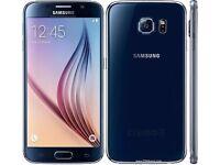 Sim Free Samsung Galaxy S6 32GB - Black, Almost new condition.