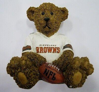 Cleveland Browns NFL Football Ceramic Mini Teddy Bear Figuri
