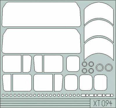 Eduard Accessories Xt094 - 1:35 Faun Slt 56 - Maskierfolie - Neu