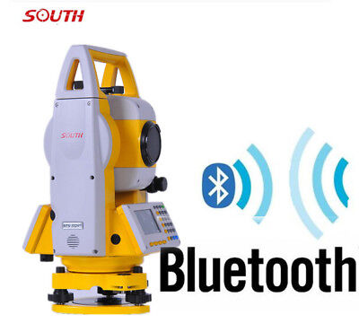 New South Reflectorless 400m Laser Total Station Nts-332r4 With Bluetooth