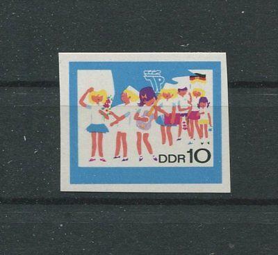 DDR PH 1432 PIONIERE 1968 PHASENDRUCK Mi 100.- MUSIC SCOUTS PROOF RARE!! m789