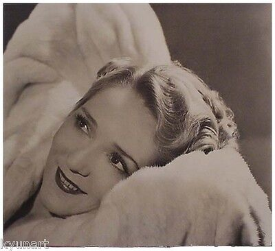American Photographer LOUISE DAHL-WOLFE, Vintage Photo, MARY PICKFORD, 1938