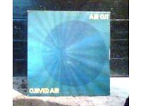 curved air,vinyl record,lp,air cut.