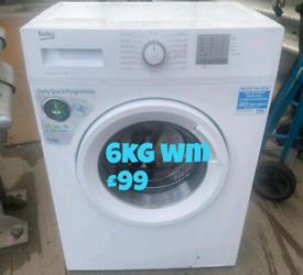 Beko 6kg washing machine free delivery in derby