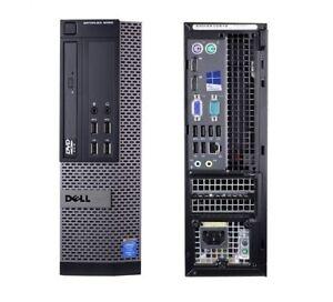 Dell OptiPlex 9020 i7(4th Gen) Quad Core 8 Threads, SFF