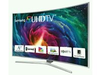 "SAMSUNG 55"" Curved SUPER 4K SUHD SMART 3D WIFI 9 SERIES TOP MODEL"