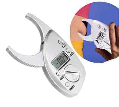 Digital Display LCD Body Fat Caliper Skin Fold Analyzer Measur Thickness Test PA