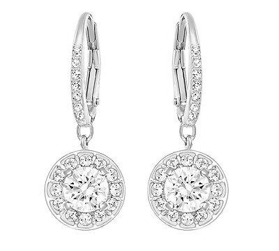Swarovski 5142721 Attract Light Pierced Earrings, Aprx Size 2.5cm RRP $129
