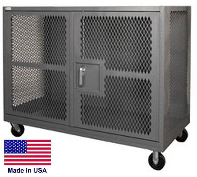 Steel Cabinet Coml/ind - Portable Security Cabinet - 14 Gauge Steel - 60x36x57