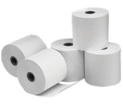 Thermal Cash Register Rolls 3-1/8 inches x 220 feet Receipt POS Paper  Pack of 5