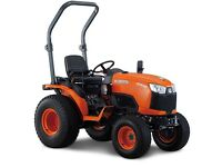 Desperately seeking compact tractor