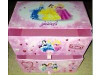 Princess storage box / drawers