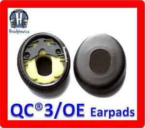 Ear-Pads-Cushions-For-Bose-QuietComfort-3-QC3-On-Ear-OE-Headphones