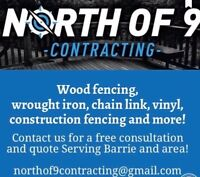 Barrie and area residential & commercial fence company..