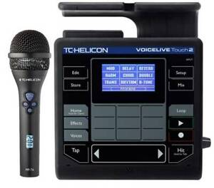 TC-Helicon Voicelive Touch 2 and MP-76 Microphone Bundle