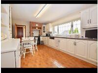 Solid wooden kitchen, dresser and worktop