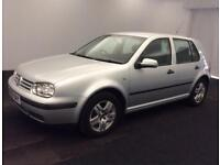 VW GOLF 1.6 2003MY Match PETROL MANUAL-FULL SERVICE HISTORY -SPARE & REPAIR
