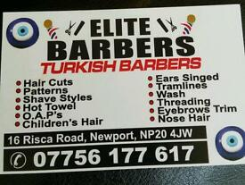 Wanted- barber staff mens hair