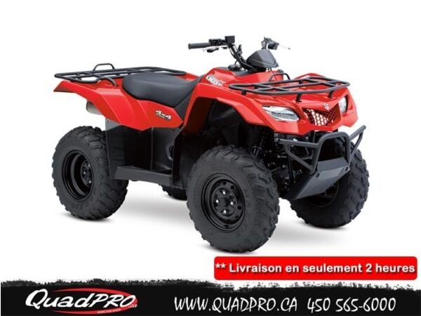 Used 2015 Suzuki KINGQUAD 400FSI MANUAL