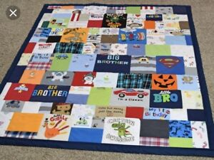 Looking For: Someone to Make a Quilt from Baby Clothes