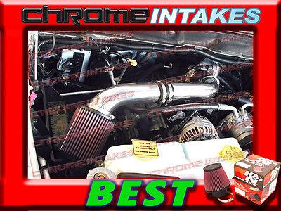 (K&N+BLACK RED 03 04-08 DODGE RAM 1500/2500/3500 5.7L V8 HEMI AIR INTAKE S Type)