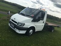 RECOVERY TRUCK FORD TRANSIT .. ST STYLE BUMPERS, HIDs,