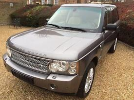 """SOLD"" 2007 LHD LAND ROVER RANGE ROVER 3.6 TDV8 VOGUE, AUTO, LEFT HAND DRIVE"