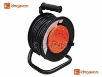 Kingavon 15m Extension Reel with 4 x 13 Amp Sockets - ELECTRICAL, CABLES