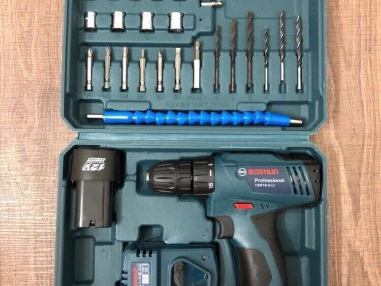 Electric Hand Drill / Cordless Drill (NEW)