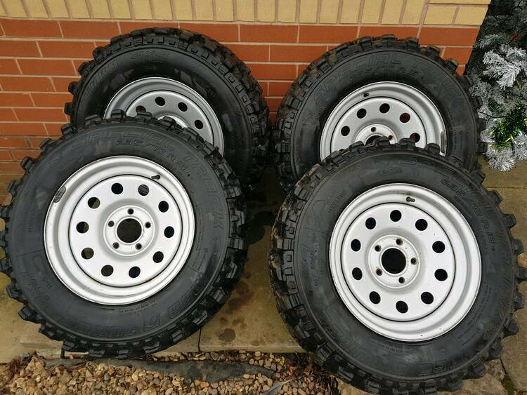 Land Rover Discovery 2 P38 Winter Off Road Wheels And