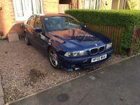 E39 BMW 525D MSPORT NEEDS TLC